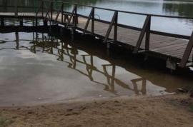 Jaukus sodo namelis prie Ežero