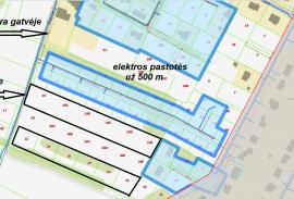 Tarandėje namų valdos sklypai su detaliuoju planu ir atliktais kadastriniais matavimais. Dujos šalia