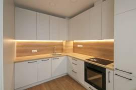 Nuomojamas 2 kambarių 32,5 kv. m naujas, įrengtas dar negyventas butas su terasa Pašilaičiuose, Viln, Laisvės pr.