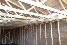 Nebaigtos statybos ekologiškas sublokuotas namas 1-oje Melnragėje, Molo g.