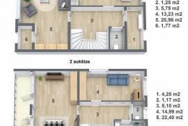 Anykščių r. sav., Vaitkūnų k., Vaitkūnų g., 3 kambarių butas
