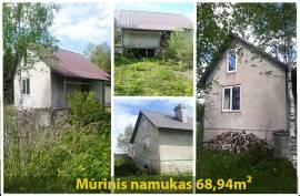 Parduodamas sklypas Juodiškių k., 15 a ploto + Namas 2012 m. 68,94 m²