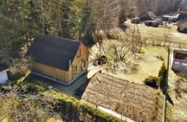 Parduodamas 55 m², 3 kambarių sodo namas su 7,35 arų sklypu Daubėnų k., Rudaminos sen., Vilniaus r.