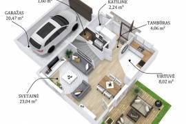 Parduodamas namas Noreikiškėse, Dubysos g. 23, Dubysos g.