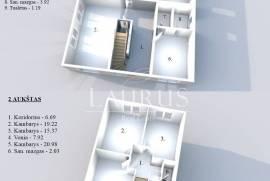 Parduodamas naujas namas Vilniuje