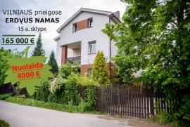 Erdvus NAMAS Vilniaus r. sav., Bukiškio k., Draugystės g., 15a.