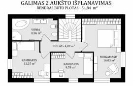 Nedidelis jaukus namas Rokantiškių soduose, Rokantiškių sodų 13-oji