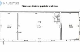 PARDUODAMAS ŪKINIS PASTATAS KARTU SU GYVENAMU NAMU PALIUNIŠKIO G. PANEVĖŽYJE