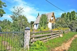 Parduodamas 40 m², 3 kambarių sodo namas su sklypu Daubėnų k., Rudaminos sen., Vilniaus r. sav.