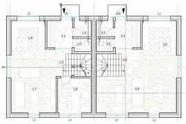 A++ klases vienbuciai namai. 110m2  Vaišvydava, Liepų al.