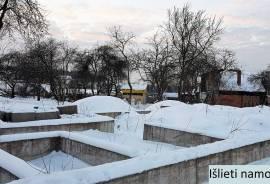 Sklypas Vilniuje su pamatais, statybos leidimu ir namo projektu!