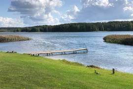 Sodyba Aukštadvaryje ant ežero kranto, Pušyno