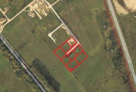 Parduodami 4 sklypai gyvenamųjų namų statybai: Lubinų g, Rimkai, Klaipėda.