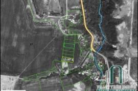 13,85 a. žemės skl. namų valdai Kauno r., Noreikiškėse, prie I forto
