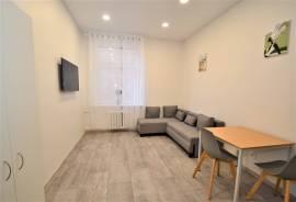 Nuomojamas naujai įrengtas jaukus 1 kambario studijos tipo butas Naujamiestyje, Švitrigailos g.\n\n*