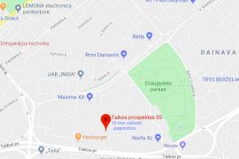 NUOMOJAMAS IŠSKIRTINIO DIZAINO 2 KAMBARIŲ BUTAS TAIKOS pr, KAUNE, Taikospr.
