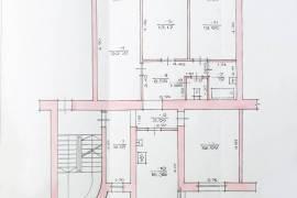Unikalus 4 kambarių butas su židiniu!, Dujotiekio