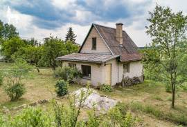 PARDUODAMAS mūrinis sodo namas Kreivėnuose \n\nNuostabioje vietoje, Vilniaus raj. sav., Bezdonių sen