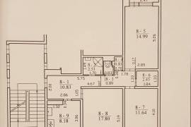3 kambarių butas Pilaitėje, Vydūno
