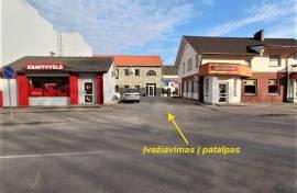 Parduodamos autoserviso, komercinės/gamybinės paskirties patalpos Radviliškyje, Gedimino g. 26.