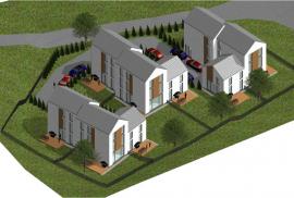 Parduodami nauji namai Antakalnyje